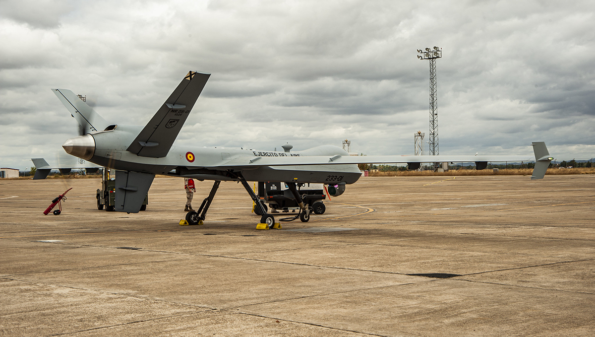 GA-ASI Delivers Final MQ-9A Block 5 RPA to Spain