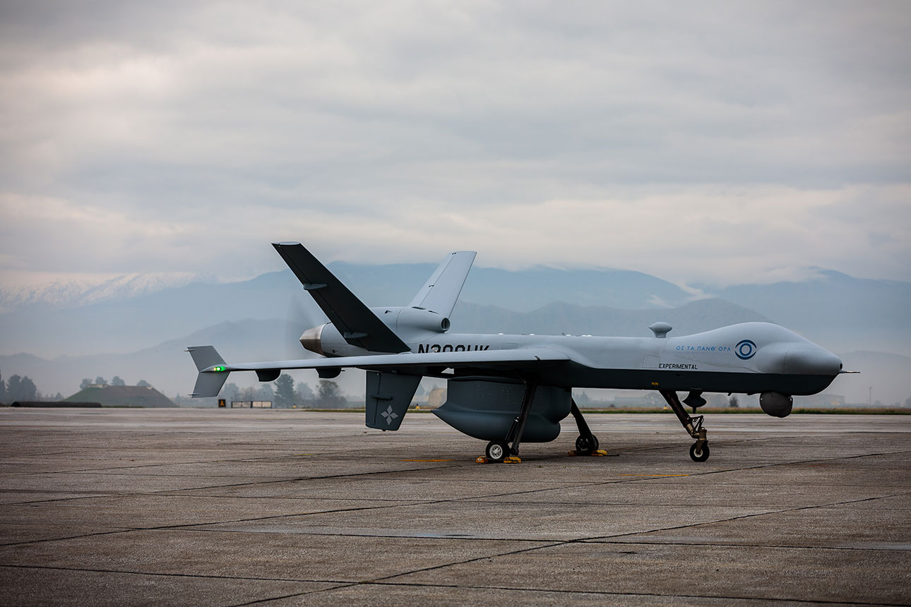 MQ-9 Guardian with Maritime Capability