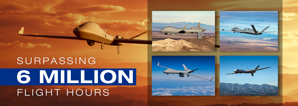 GA-ASI's Predator Series Aircraft Pass Six Million Flight Hours